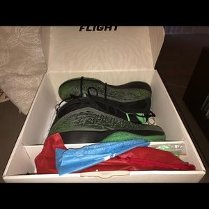 Nike Shoes - Nike Air Jordan 2011 (size 12, Black/Neo Lime)